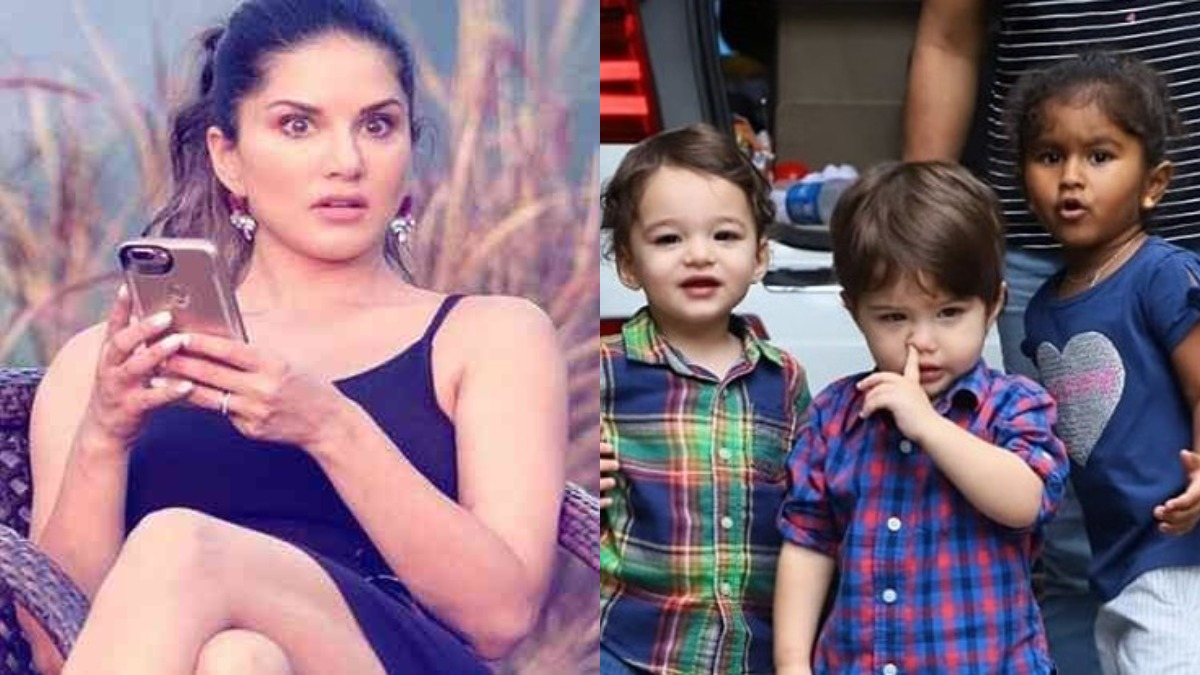 Sunny Leone and husband Daniel Weber's reaction to son Asher's ...