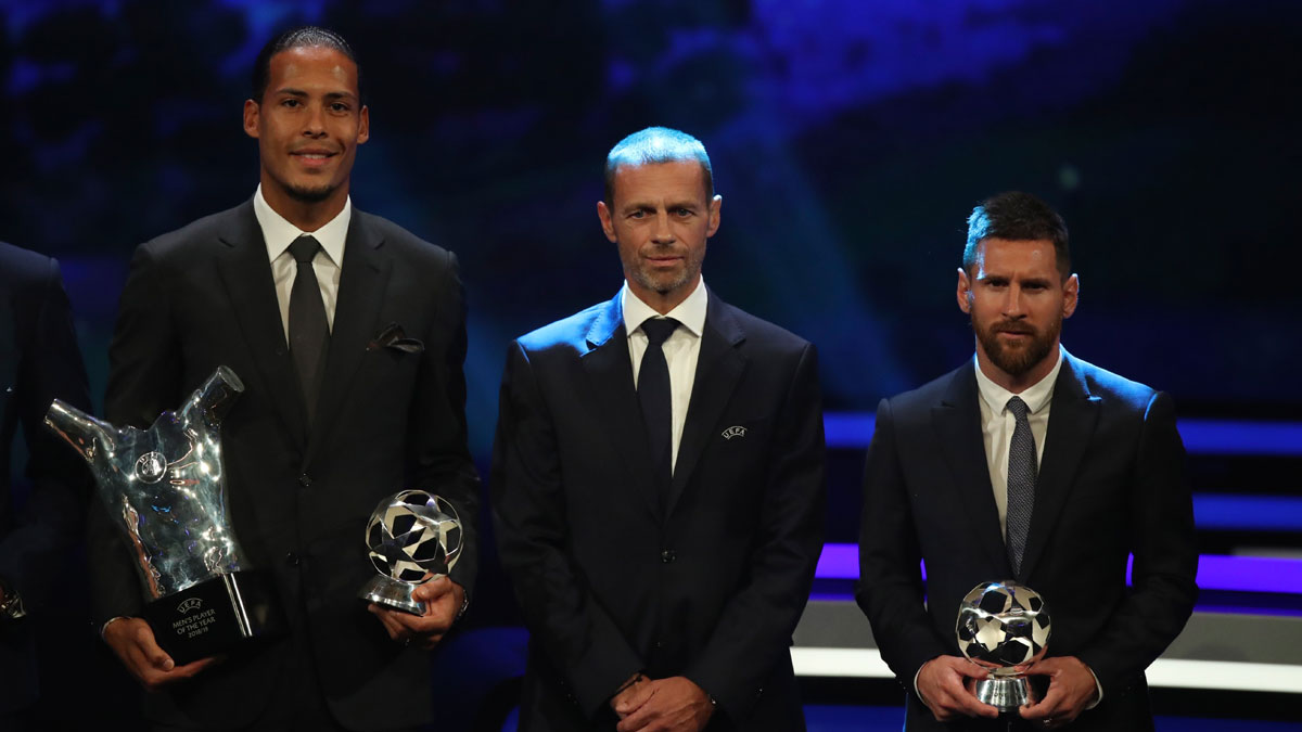 Virgil Van Dijk Pips Lionel Messi And Cristiano Ronaldo To Win Maiden Uefa Men S Player Of The Year Award Soccer News India Tv
