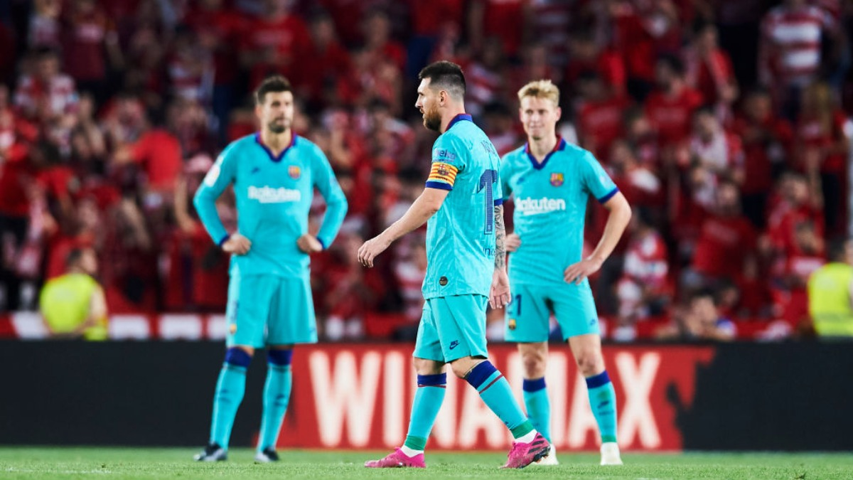 La Liga Barcelona Lose To Granada Make Their Worst League Start In 25 Years Soccer News India Tv