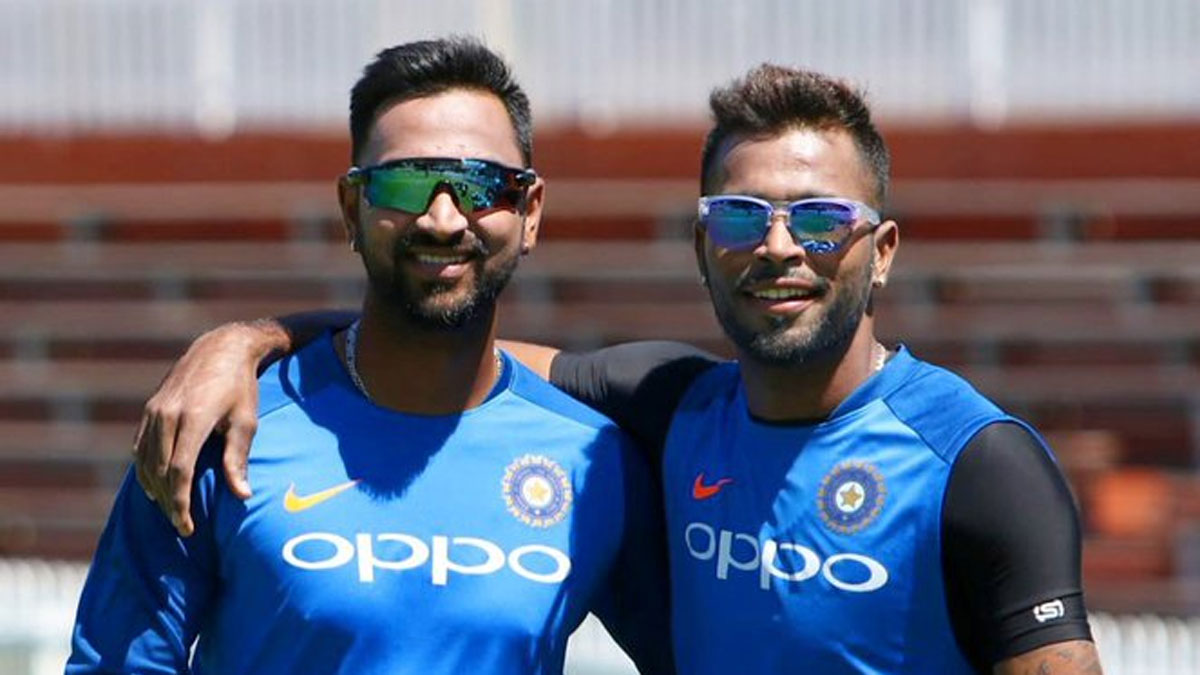 We should look in Pandya family: Hardik wants selectors to consider brother Krunal as all-round option in ODIs | Cricket News – India TV