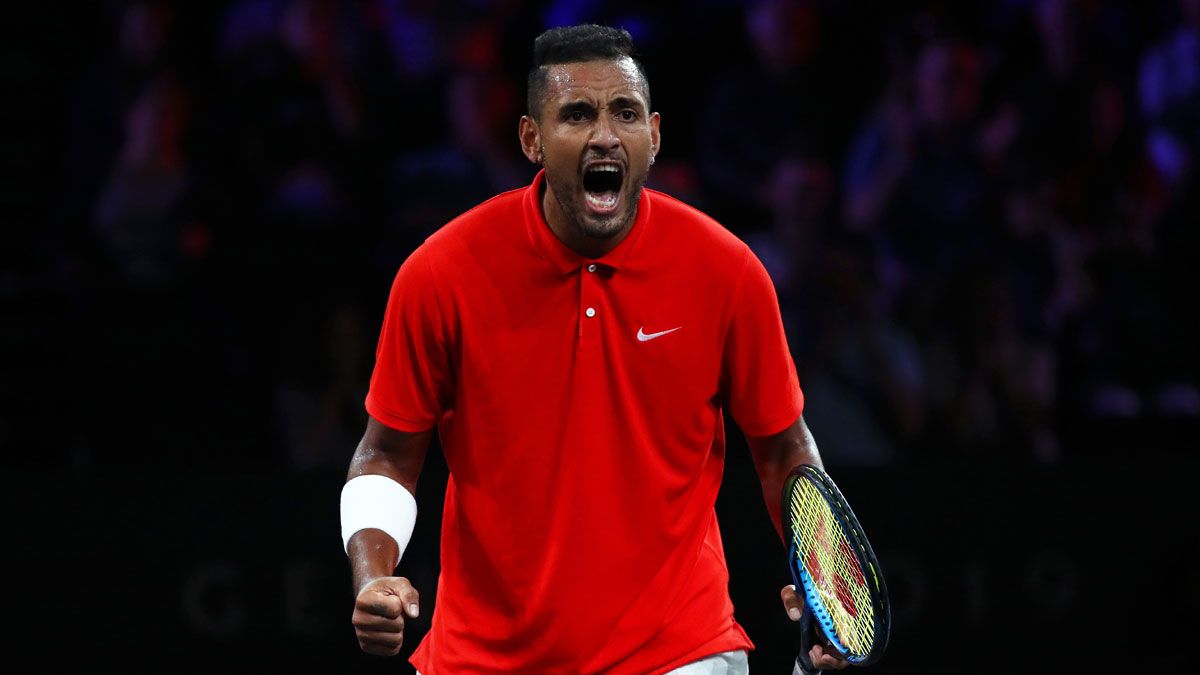 Nick Kyrgios Hits Out After Novak Djokovic S Father Blames Grigor Dimitrov Tennis News India Tv