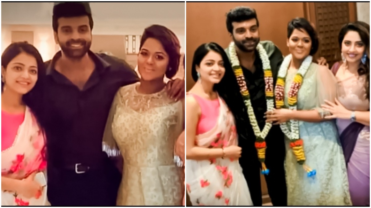 Bigg Boss Tamil Contestant Ramya Nsk Ties The Knot With Actor Sathya See Pics From Their Wedding Ceremony Tv News India Tv