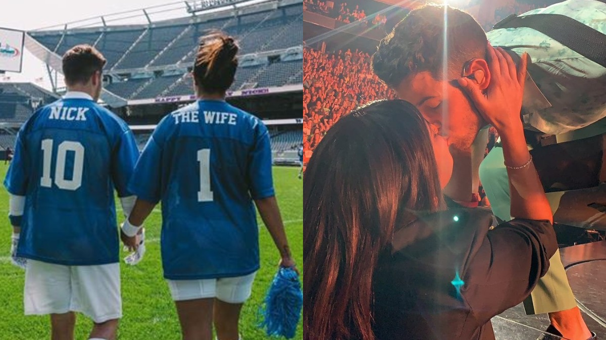 Priyanka Chopra's dreamy surprise for Nick Jonas includes football game and  kisses, check inside pic | Celebrities News – India TV