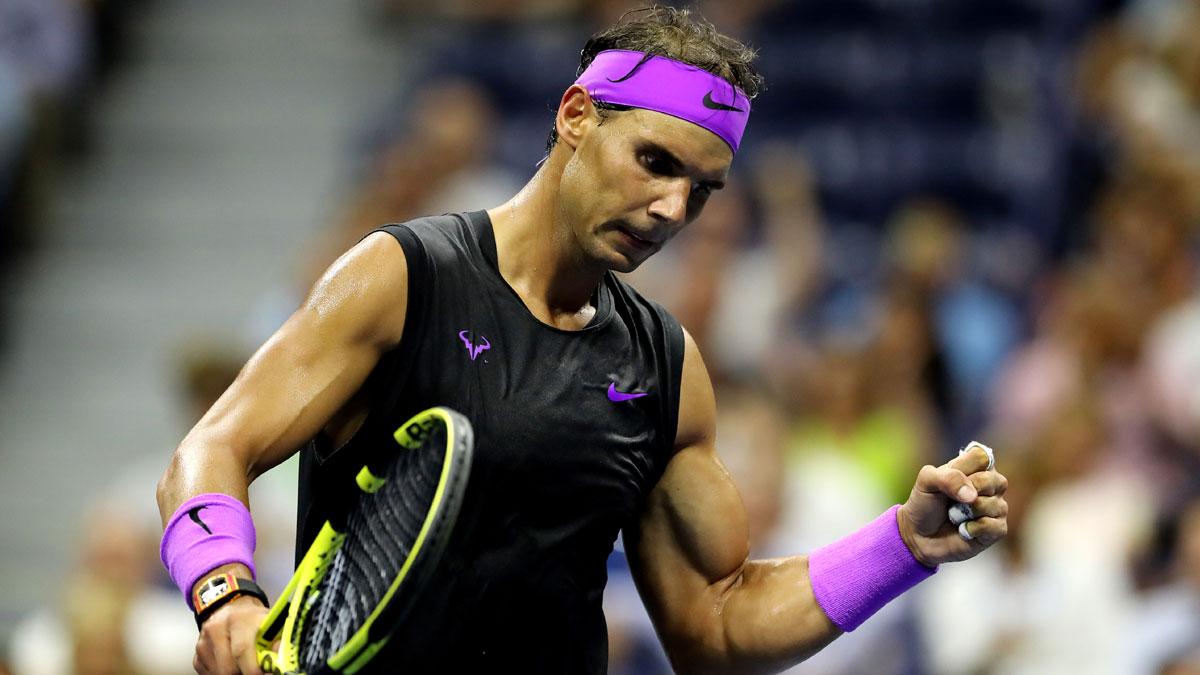 Us Open Clincial Rafael Nadal Beats Diego Schwartzman Reach Semi Finals Tennis News India Tv