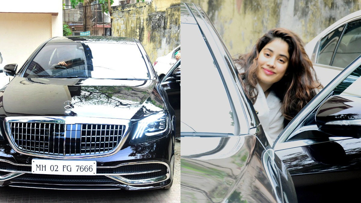 Janhvi Kapoor's new luxurious Mercedes-Maybach has a Sridevi connection.  Find out | Celebrities News – India TV