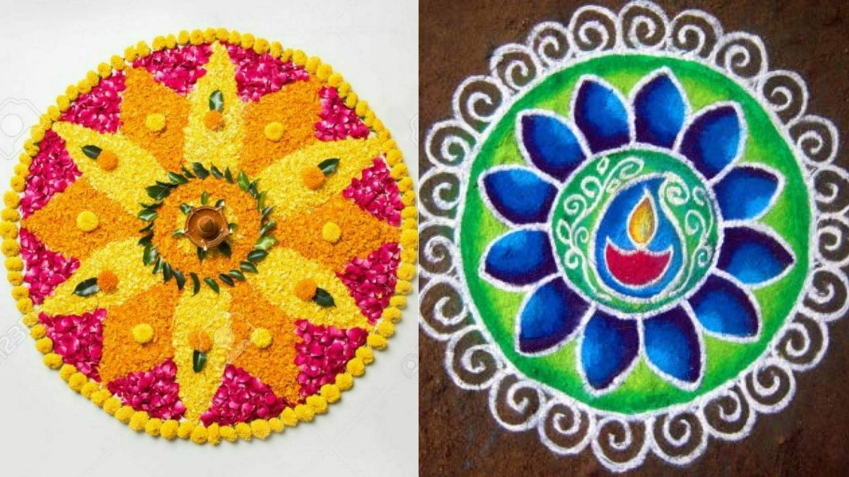 10 Super Simple Rangoli Designs To Make Your Diwali Extra Special