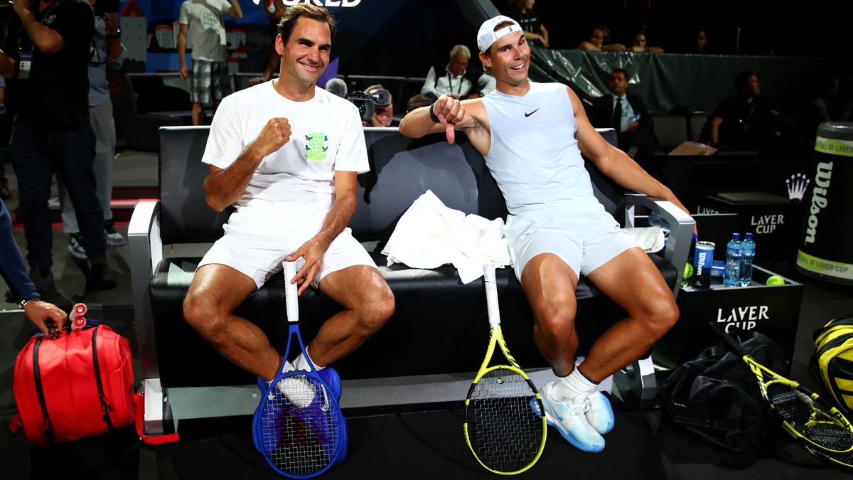 Roger Federer To Play Rafael Nadal In South Africa Where His Mother Was Born Tennis News India Tv