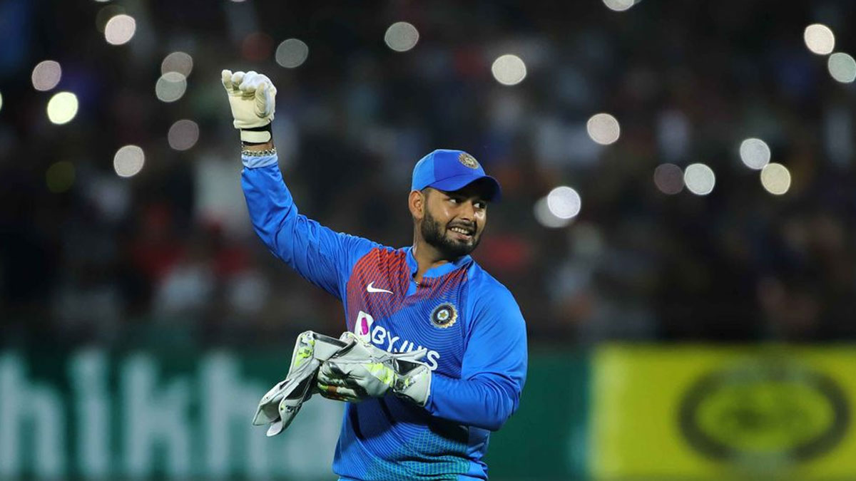 Rishabh Pant is first choice India's wicket-keeper after MS Dhoni