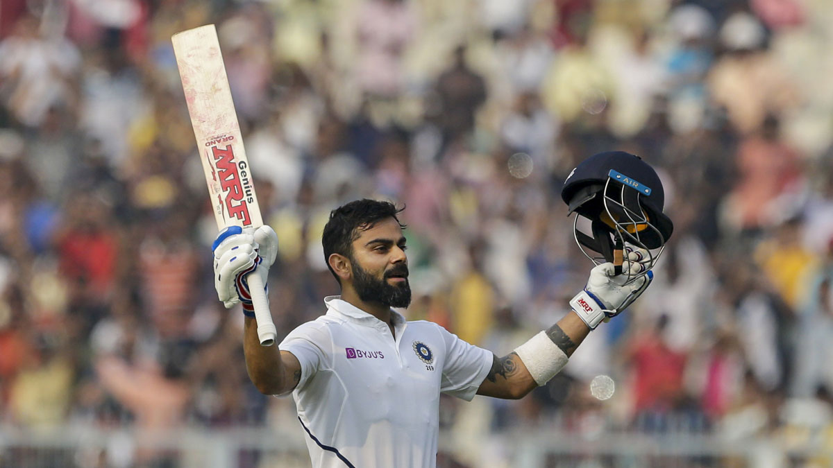 Day-Night Test: Virat Kohli marks landmark occasion at Eden Gardens with 70th international century | Cricket News – India TV