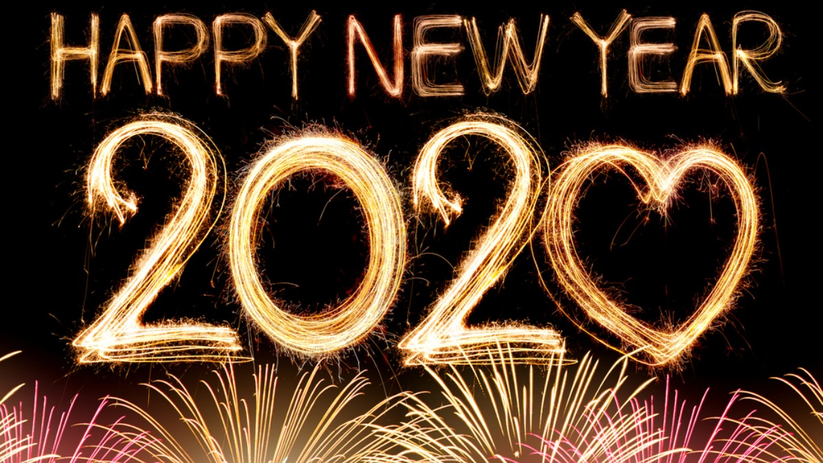 Happy New Year 2020 Download Images Pictures Hd Wallpapers Stickers To Send Your Friends And Relatives Books News India Tv
