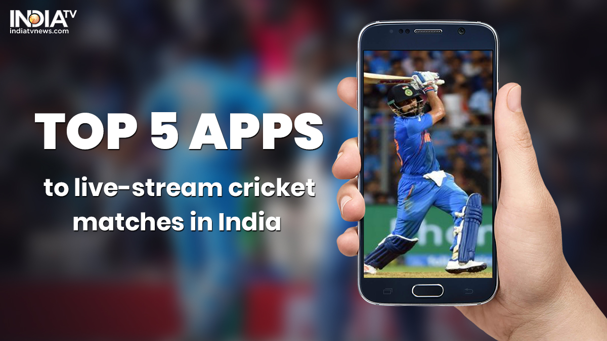 Best Android And Ios Apps To Live Stream Cricket Matches In India Apps News India Tv