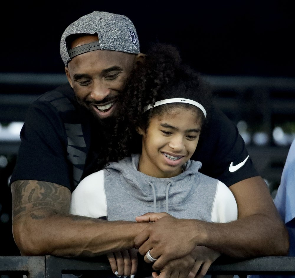 Daughters age bryant kobe Kobe Bryant:
