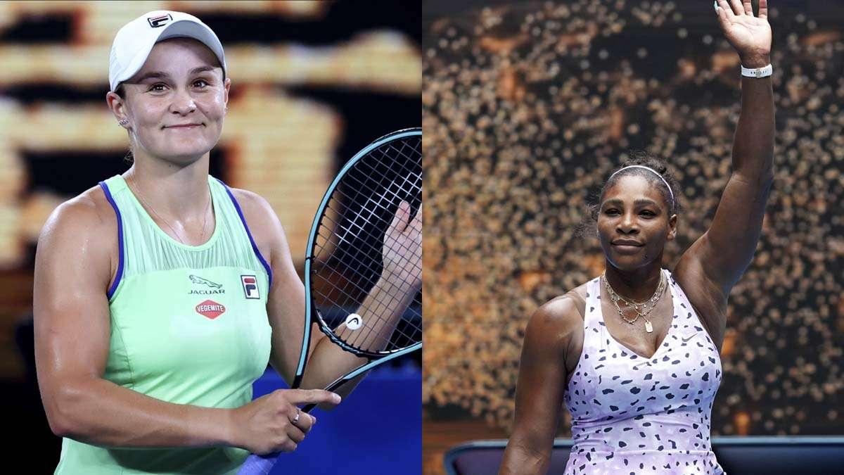 Australian Open 2020 Ashleigh Barty Serena Williams Naomi