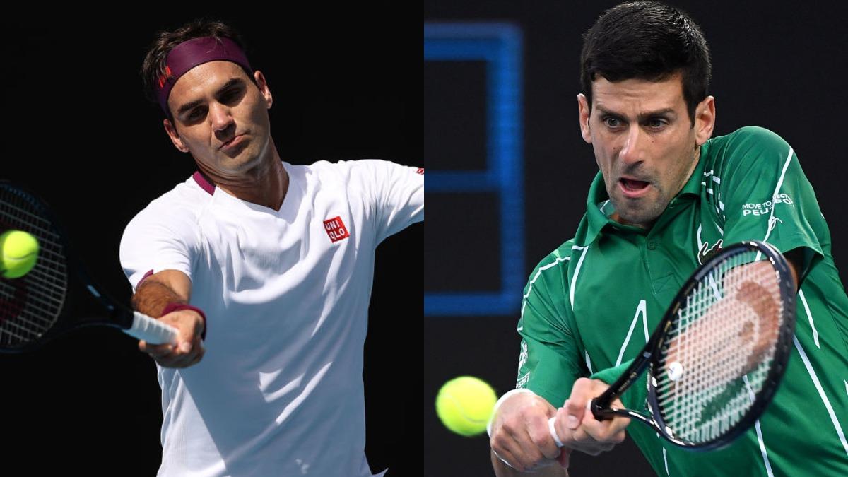 Roger Federer Vs Novak Djokovic Live Streaming And Updates Australian Open Live Stream Online Sonyliv Sony Ten Jio Tv Tennis News India Tv