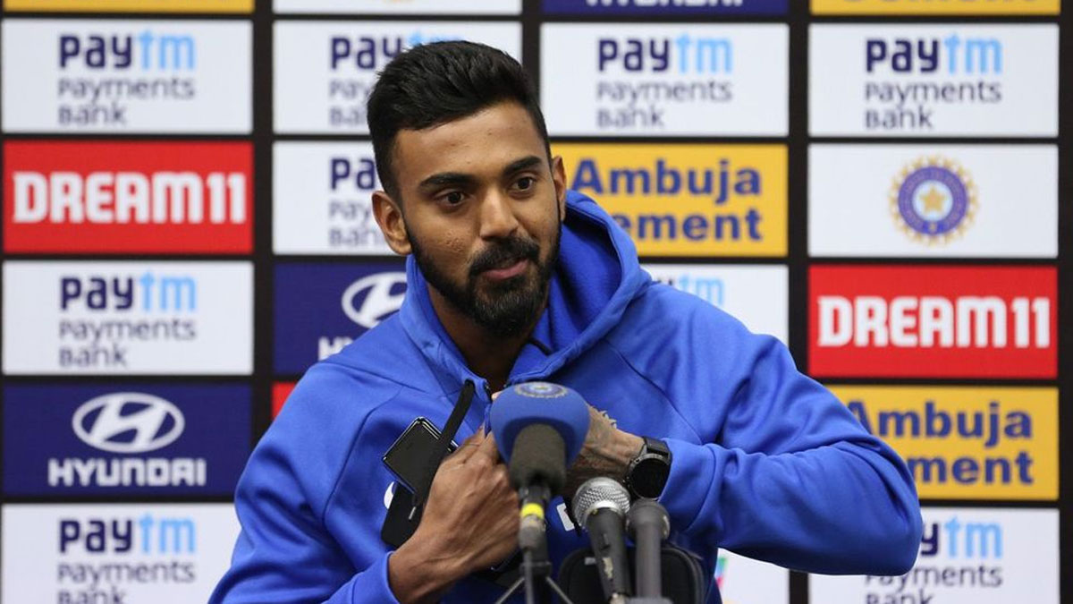 Image result for kl rahul press conference in new zealand