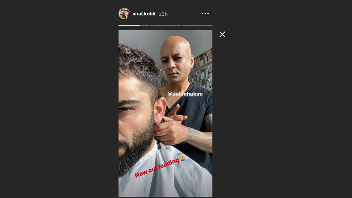 Virat Kohli Flaunts New Hairstyle Ahead Of T20i Series Against Sri Lanka Cricket News India Tv