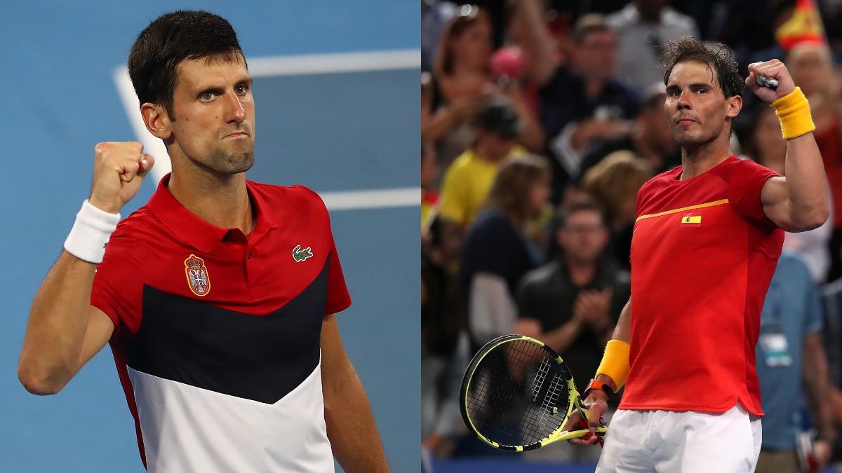Atp Cup Novak Djokovic Rafael Nadal Win Respective Opening Round Fixtures Tennis News India Tv