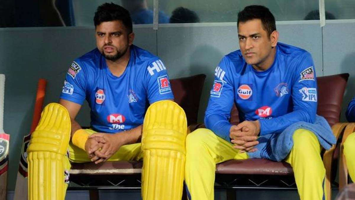 Image result for Suresh Raina and dhoni in ipl
