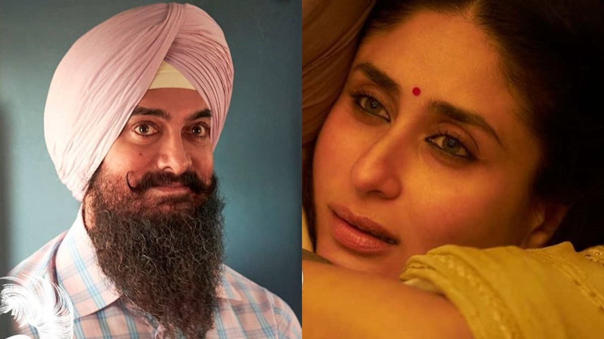 Aamir Khan unveils Kareena Kapoor Khan's look from 'Laal Singh Chaddha' |  Celebrities News – India TV