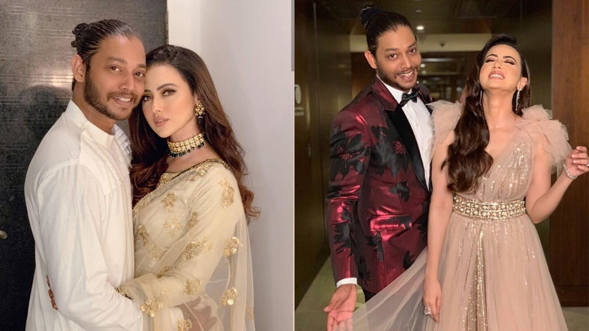 Sana Khan Confirms Break Up With With Boyfriend Melvin Louis Says God Saved Me From Toxic Relationship Celebrities News India Tv