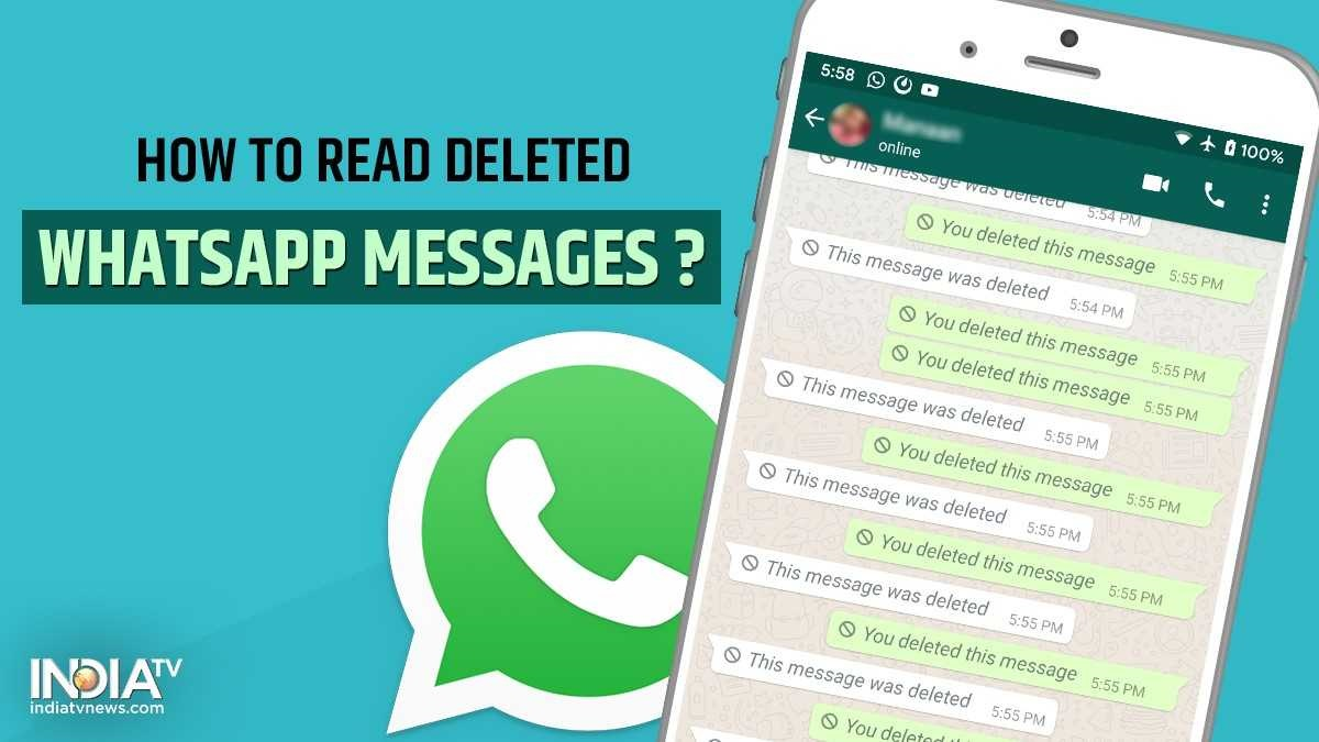 WhatsApp tips and tricks: Here's how you can read deleted WhatsApp messages  on Android | Technology News – India TV