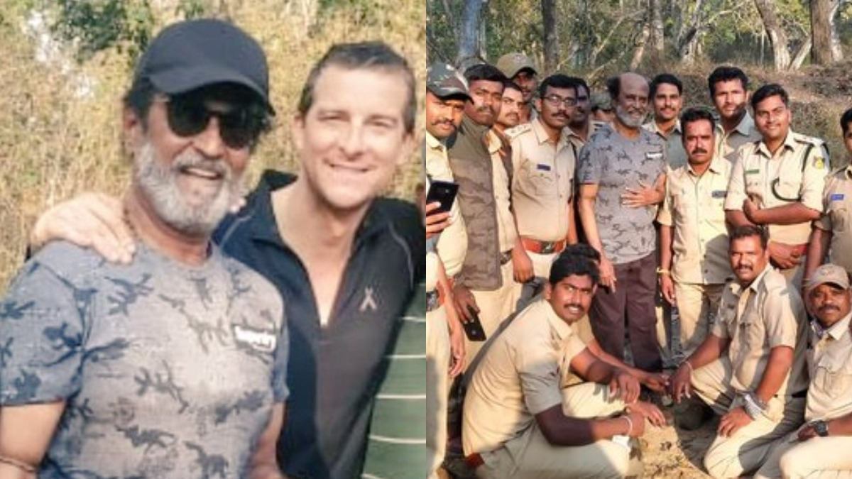 Ahead of Rajinikanth's 'Into the Wild' episode with Bear Grylls ...
