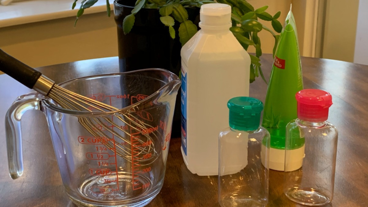 Coronavirus Essential: Sanitizers out of stock? Here's how you can create  one for yourself at home | Coronavirus News – India TV