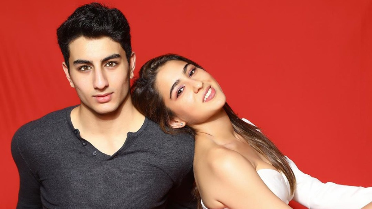 Sara Ali Khan wishes brother Ibrahim on birthday with throwback ...