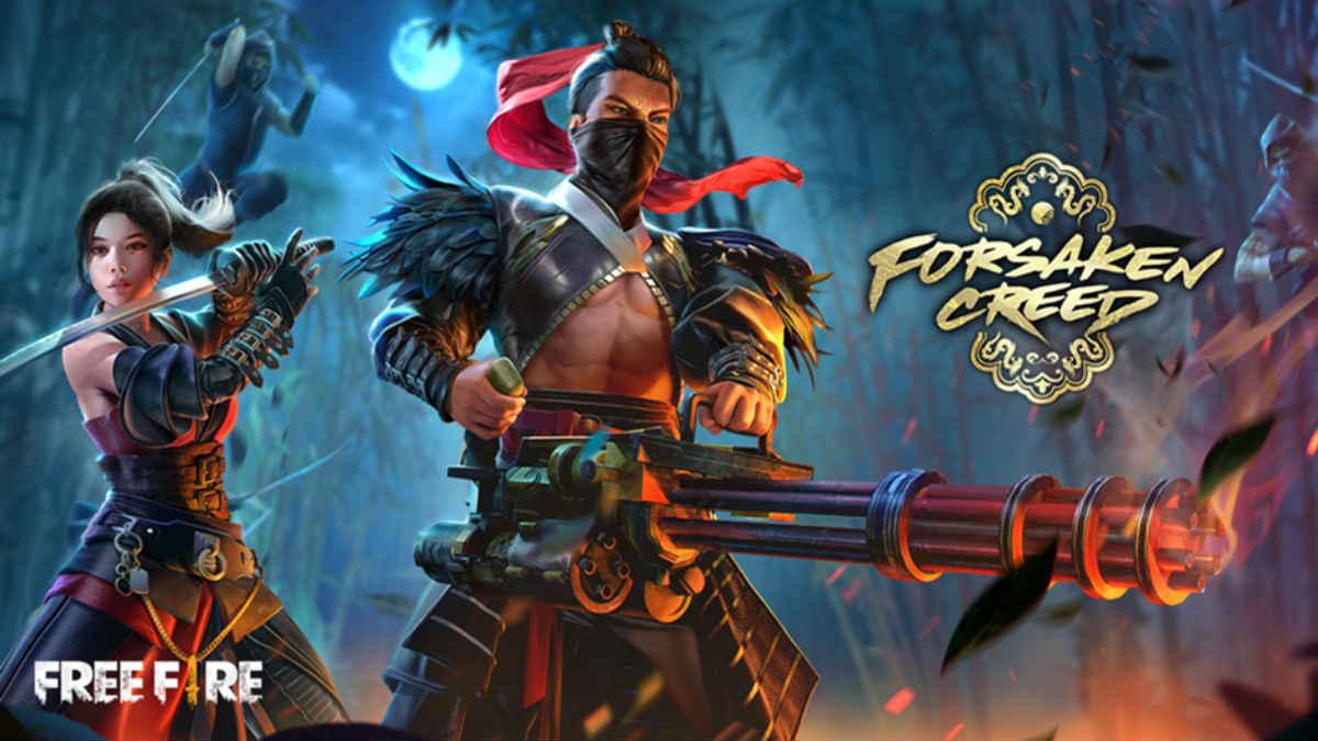 Free Fire Forsaken Creed Ep Update New Rewards Samurais Mutants And More Technology News India Tv