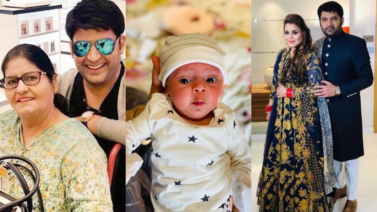 On comedian Kapil Sharma's birthday, look how he loves spending time with his mother, wife and daughter | Tv News – India TV
