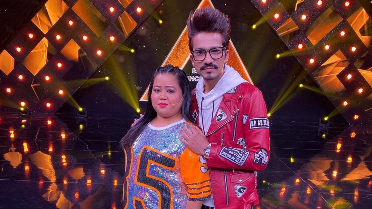 Bharti Singh, Harsh Limbachiyaa divide duties while shooting new gag series at home | Tv News – India TV