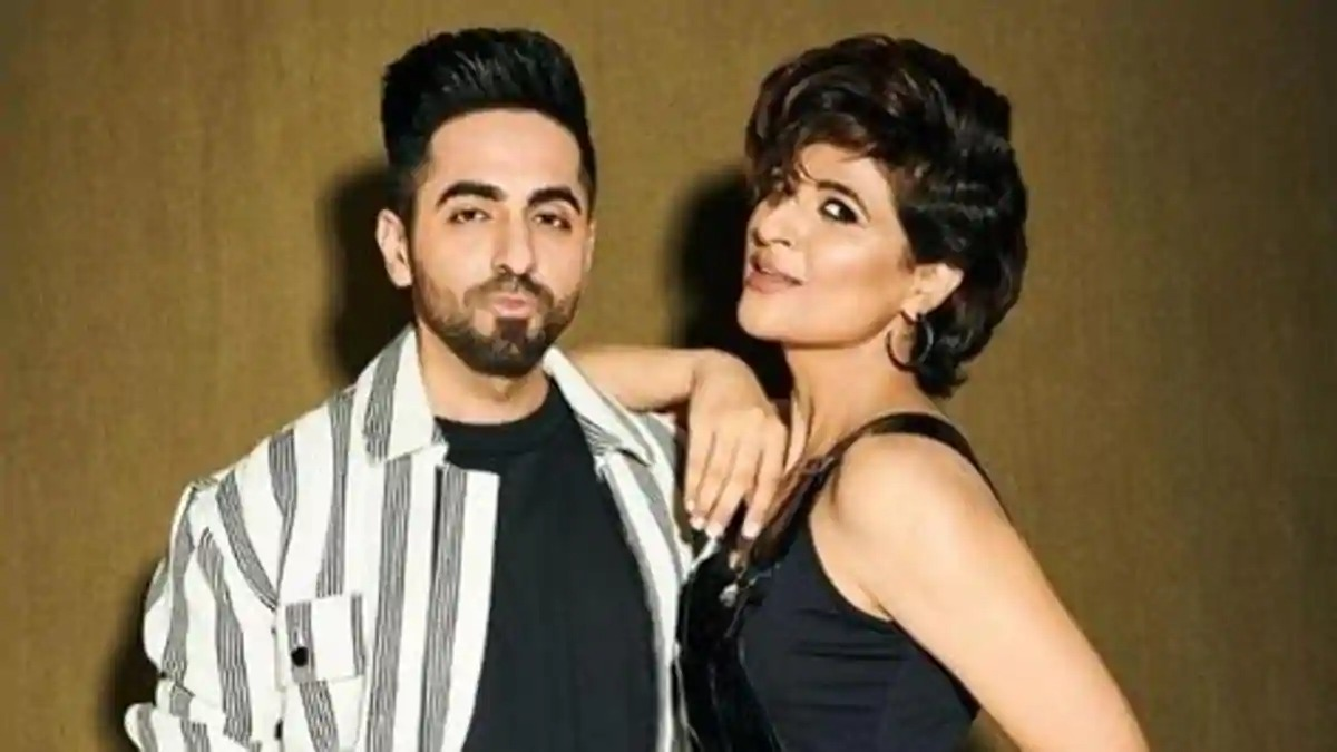 Ayushmann Khurrana- Tahira Kashyap play 'Who's more likely to'. Can you  guess who initiated the first kiss? | Celebrities News – India TV