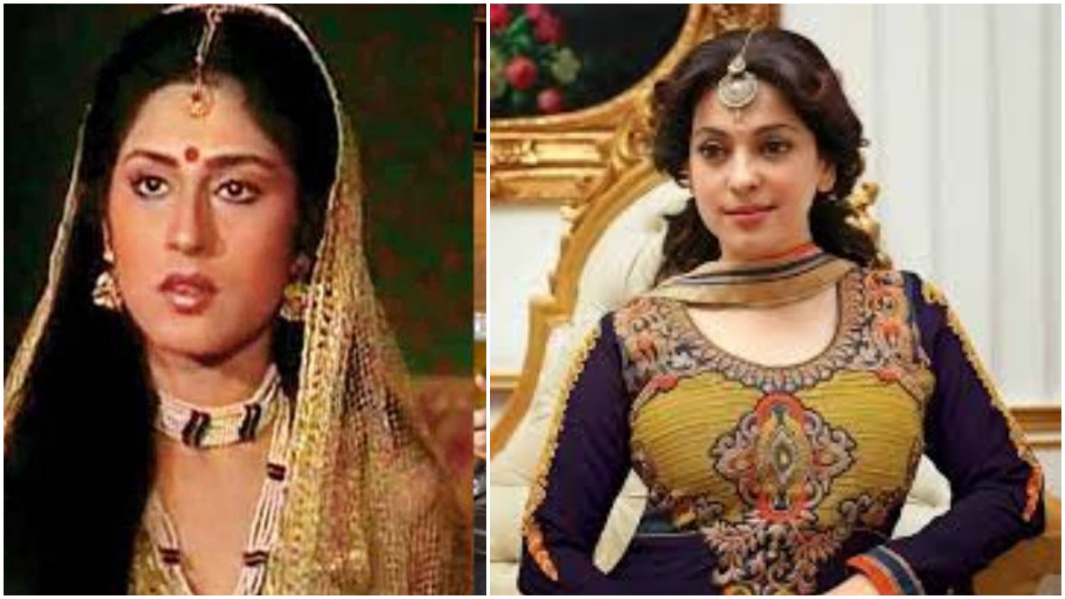 Not Roopa Ganguily Juhi Chawla Was First Choice To Play Draupadi In Br Chopra S Mahabharat Tv News India Tv
