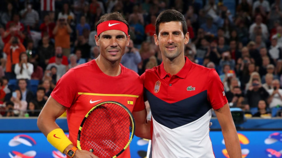 Rafael Nadal Thanks Novak Djokovic For Contributing To His Coronavirus Charity Project Tennis News India Tv