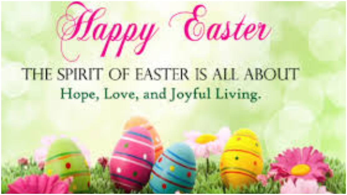 Happy Easter Sunday 2020: Significance, Quotes, Wishes, WhatsApp messages,  Facebook greetings, HD Images | Books News – India TV