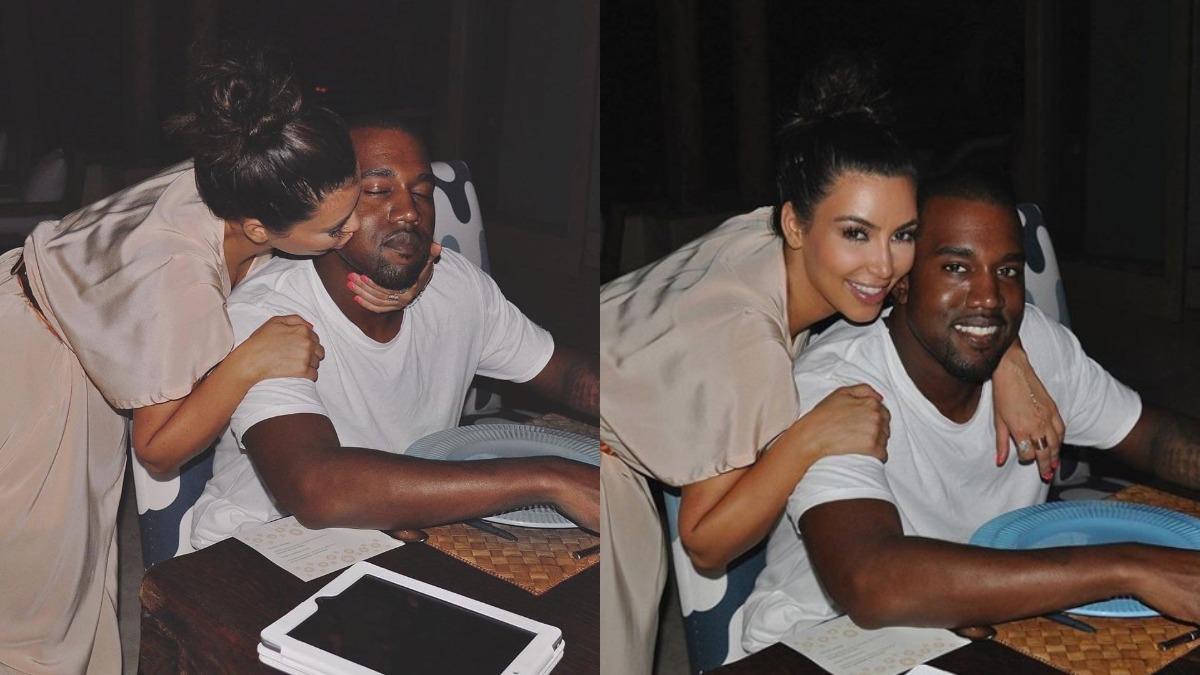 Kim Kardashian Celebrates 6th Wedding Anniversary With Kanye West Hollywood News India Tv