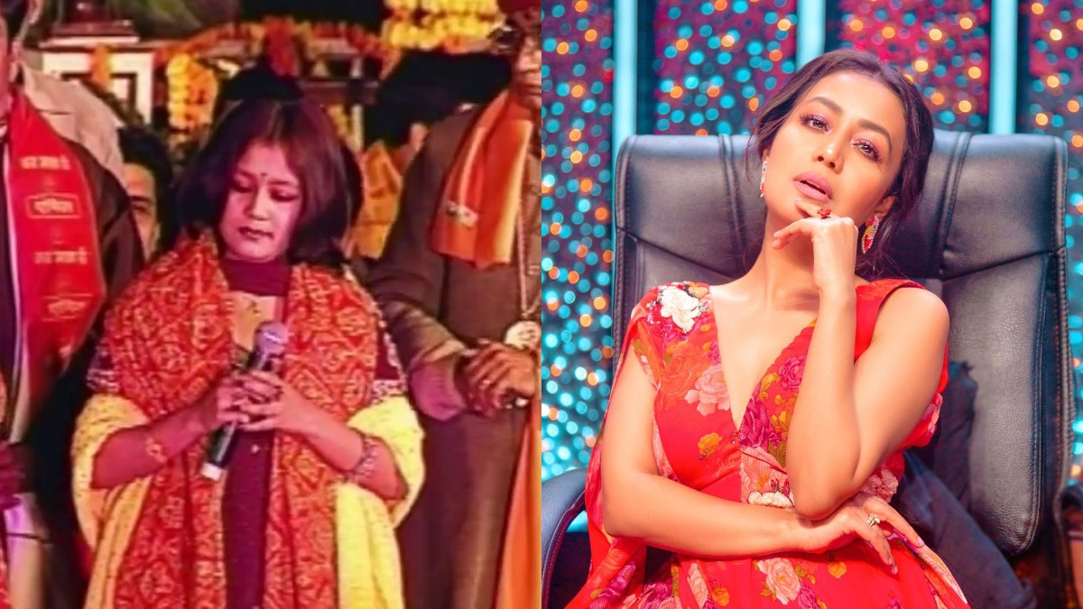 Neha Kakkar Opens Up About Her Journey From Singing Bhajans To Party Songs Music News India Tv