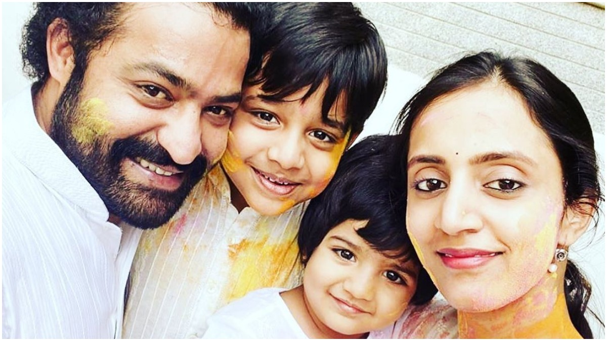 Happy Birthday Jr NTR: Adorable family moments of RRR actor with wife  Lakshmi Pranathi and sons (In Pics) | Celebrities News – India TV