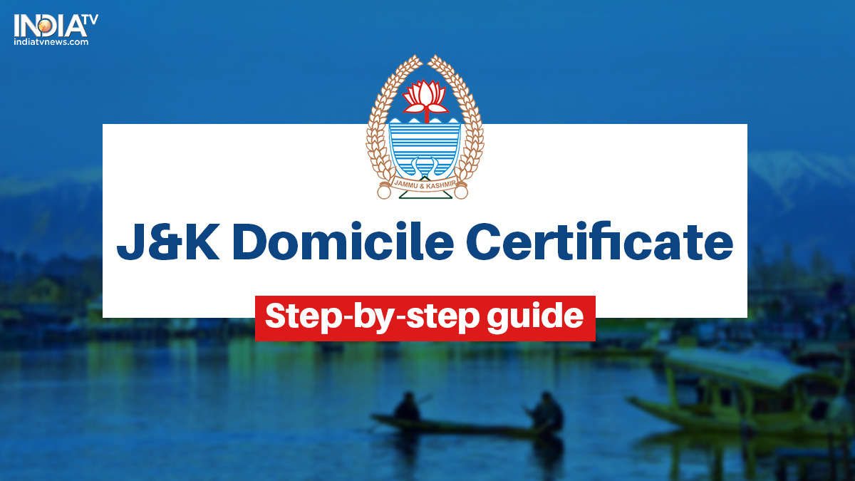 Jammu & Kashmir new domicile certificates: All you need to know