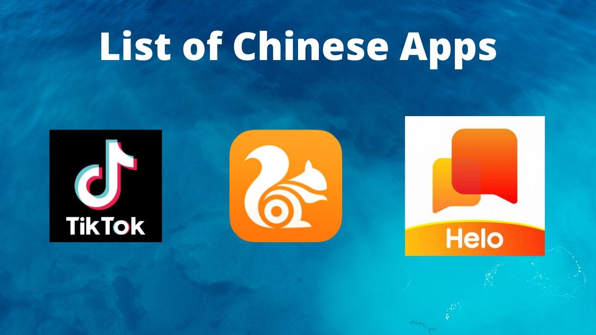 List Of Chinese Apps On Android Iphone Tiktok Shareit And More Apps News India Tv