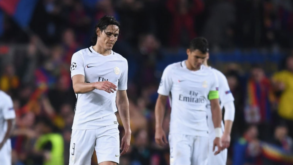 Thiago Silva Edinson Cavani To Leave Paris Saint Germain At End Of Season Football News India Tv