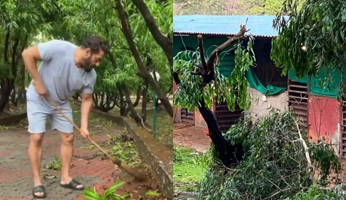 Salman Khan S Panvel Farmhouse Affected By Cyclone Nisarga Bollywood News India Tv