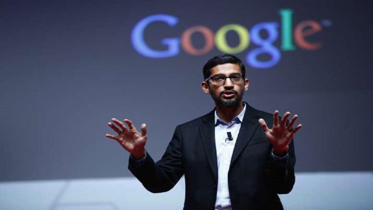 Google CEO Sundar Pichai first reaction H1-B Visa Ban Trump ...