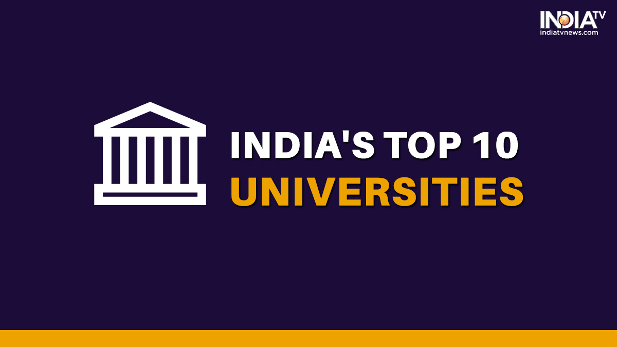 Top 10 Universities In India For 2021 Revealed As Per Qs World University Rankings Higher News India Tv