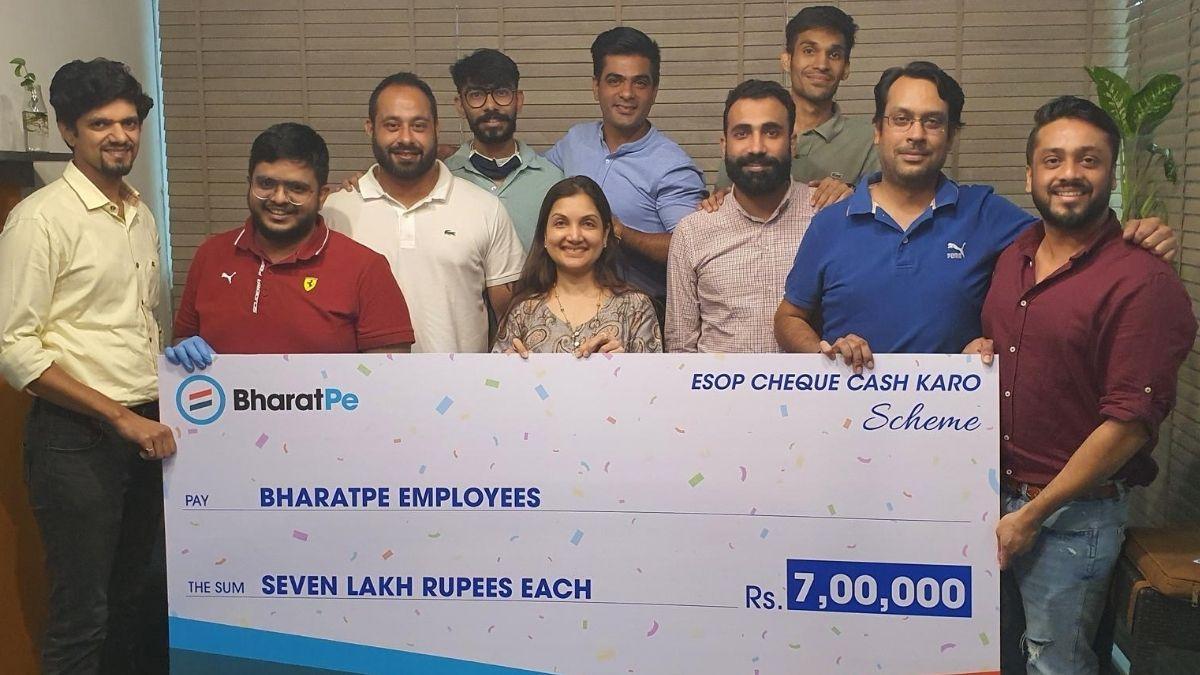 BharatPe 'ESOP Cheque Cash Karo' scheme launched: Know details | Apps News  – India TV