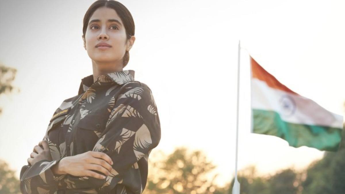 Janhvi Kapoor Starrer Gunjan Saxena The Kargil Girl To Stream On Netflix On August 12 Web Series News India Tv