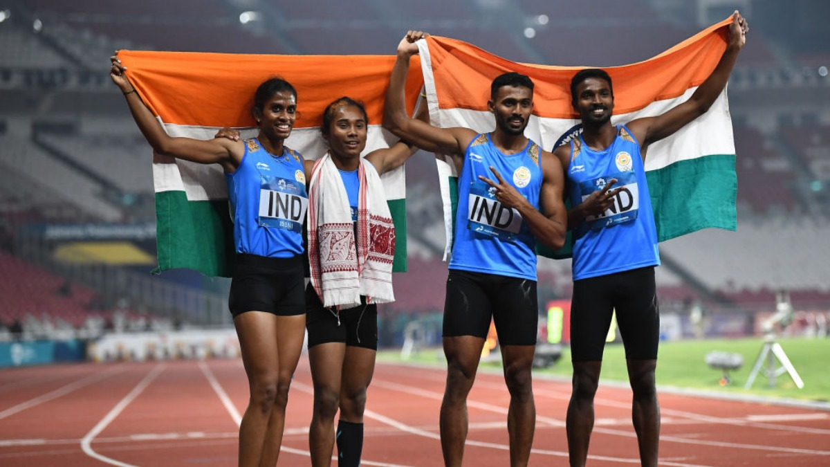 India mixed relay team's 2018 Asiad silver upgraded to gold ...