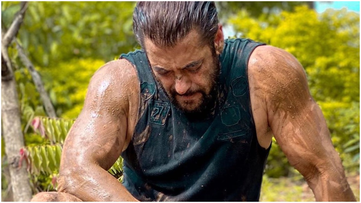 Salman Khan pays respects to all farmers as he shares pic soaked ...