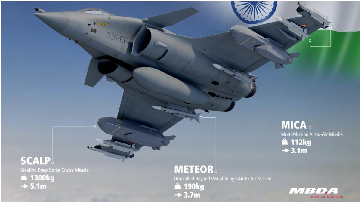 How armed Rafale fighter jet increases Indian firepower in the sky | Rafale News – India TV