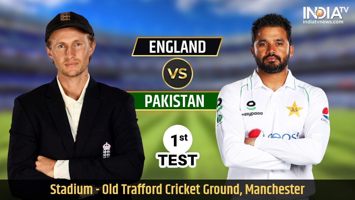 Live Streaming Cricket England Vs Pakistan 1st Test Watch Eng Vs Pak Live Cricket Match Online On Ptv Live Ten Sports Cricket News India Tv